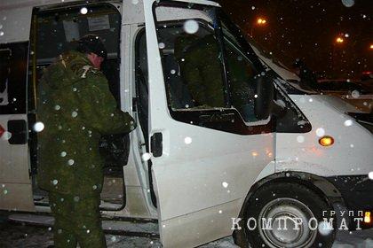Водителя застрелили в маршрутном автобусе на улице в российском городе