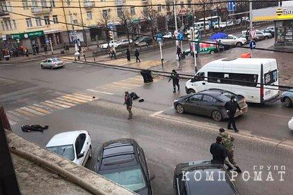 В центре Грозного произошла стрельба