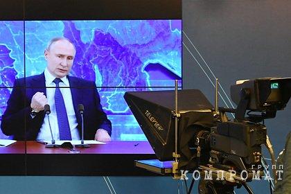 Путин заявил о бездействии Европы в деле Навального