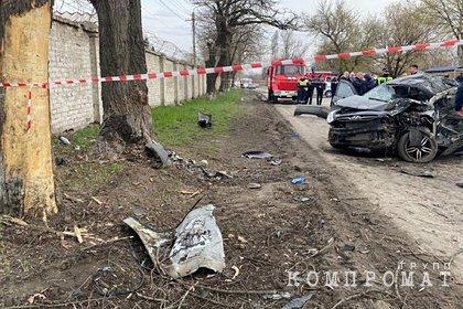 Шестой российский подросток стал жертвой ДТП с пьяным школьником за рулем