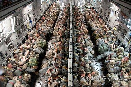 В Совфеде ответили на высадку военных США в Эстонии