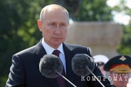 Путин поздравил ветеранов с Днем Победы и обратился к россиянам