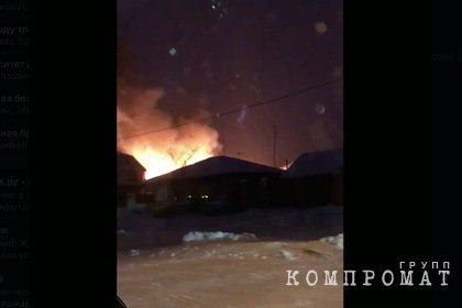 В нелегальном российском доме престарелых при пожаре погибли семь человек