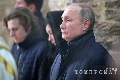 Путин обратился к россиянам в Рождество