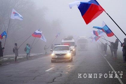 Путин пообещал не бросать Донбасс