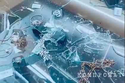 Российские дети-«единороги» напали на ювелирный магазин