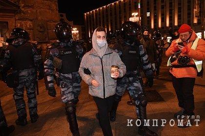 В России предложили заочно наказать организаторов несанкционированных акций