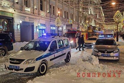 Пожар в здании в центре Москвы ликвидирован