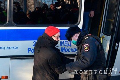 У Мосгорсуда начались задержания