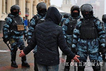 Кремль оправдал действия силовиков на акциях протеста