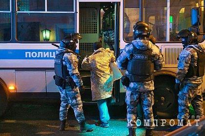 МВД завело 90 уголовных дел после несанкционированных акций