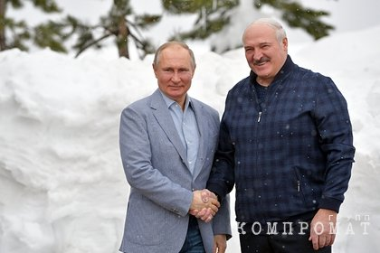 Начались переговоры Путина и Лукашенко в Сочи