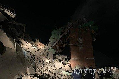 На фабрике в Норильске произошло обрушение