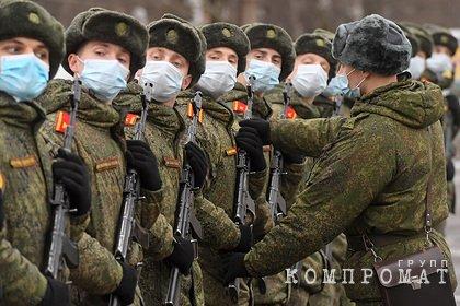 Песков рассказал о подготовке парада Победы