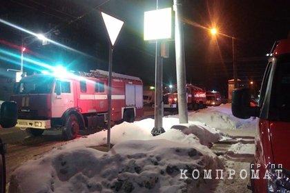 Три человека погибли при пожаре в российском многоэтажном доме
