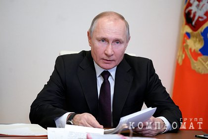 Путин объяснил санкции против России самим фактом ее существования