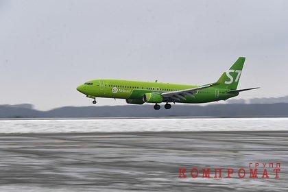 Российский пассажирский самолет экстренно сел из-за отказа двигателя