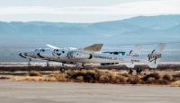 Компания Virgin Galactic осуществила первый испытательный полет со своей основной базы в Нью-Мексико