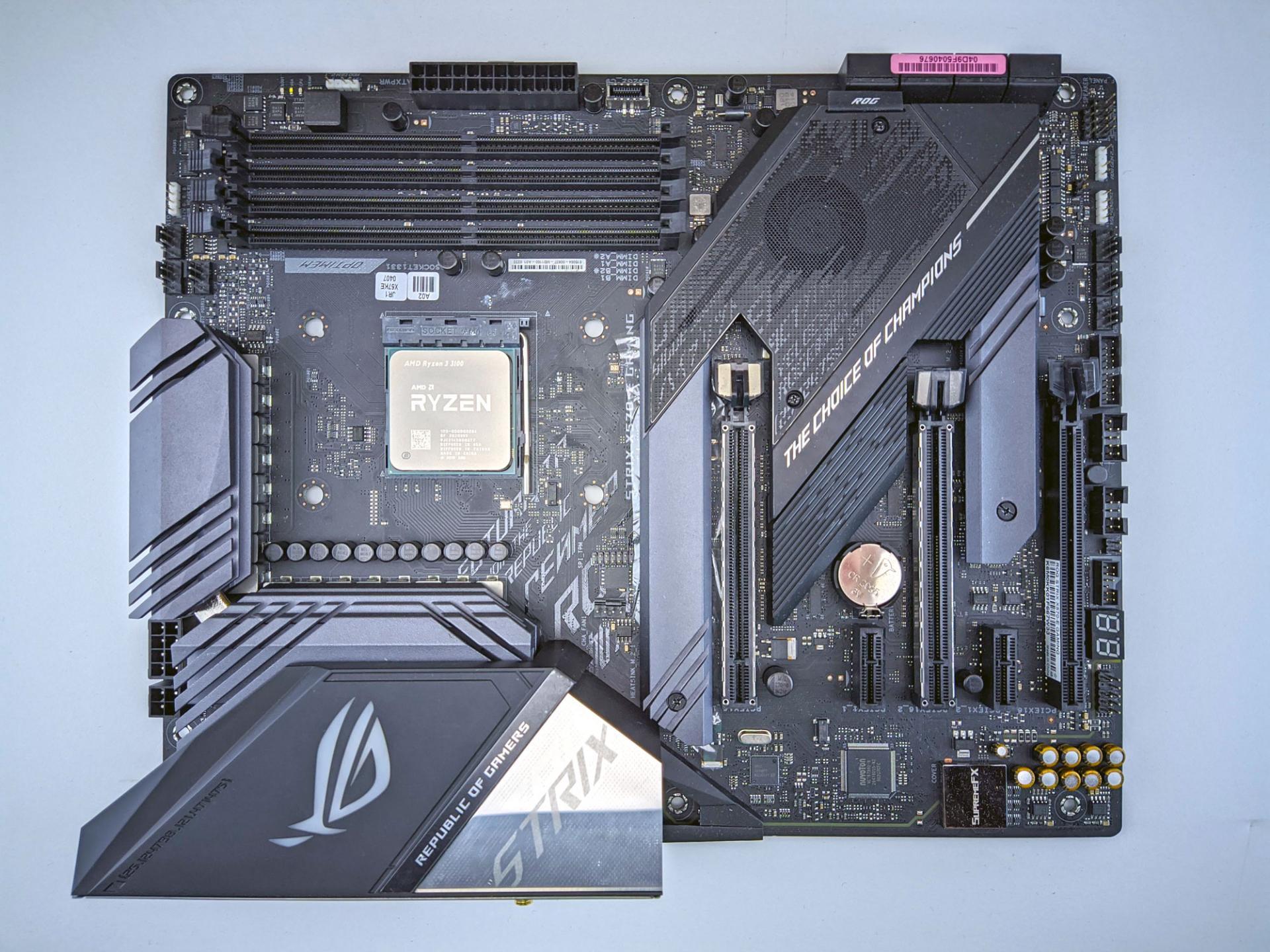 Asus добавляет поддержку процессоров AMD Ryzen 5000 в материнские платы 400-й серии