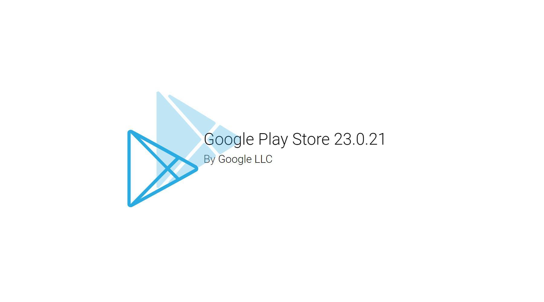 Google Play Store обновился до 23.0.21. Пора скачивать