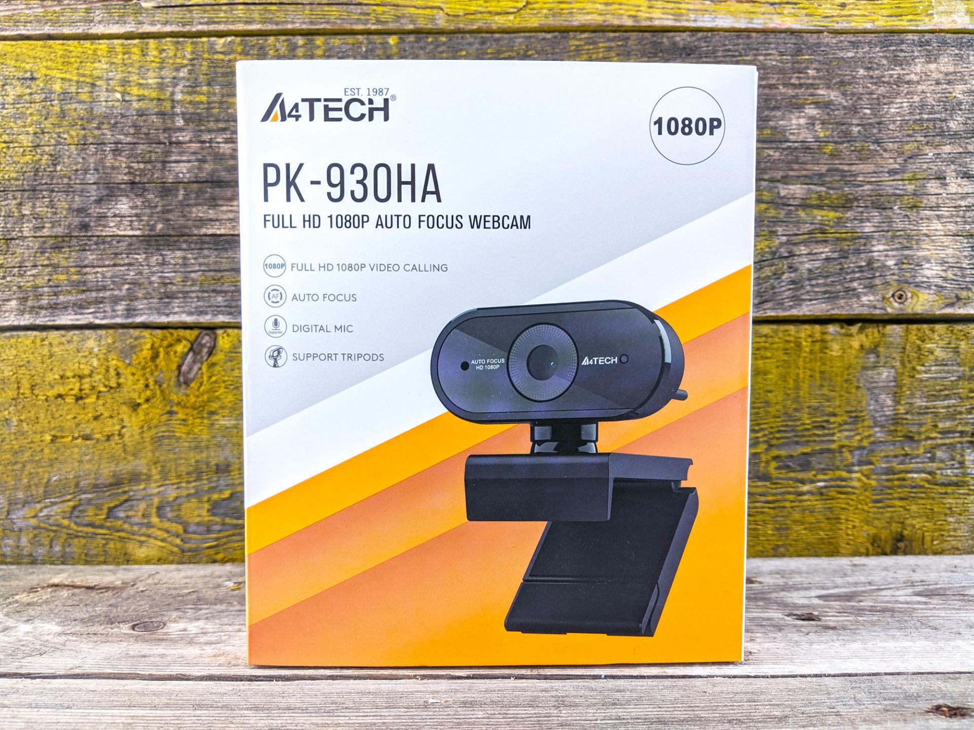 Обзор веб-камеры A4Tech PK-930HA