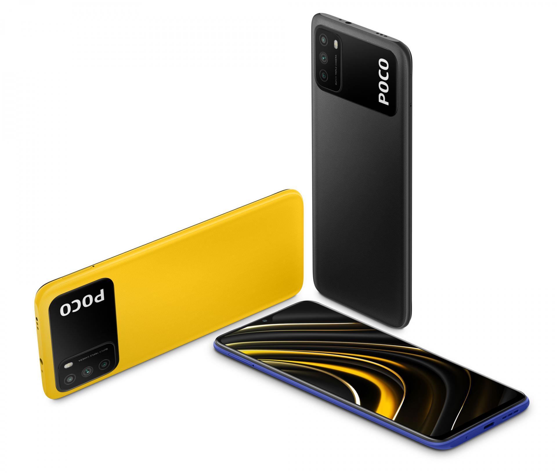 Смартфон с доступным ценником и неплохим железом Poco M3 пошёл в продажу