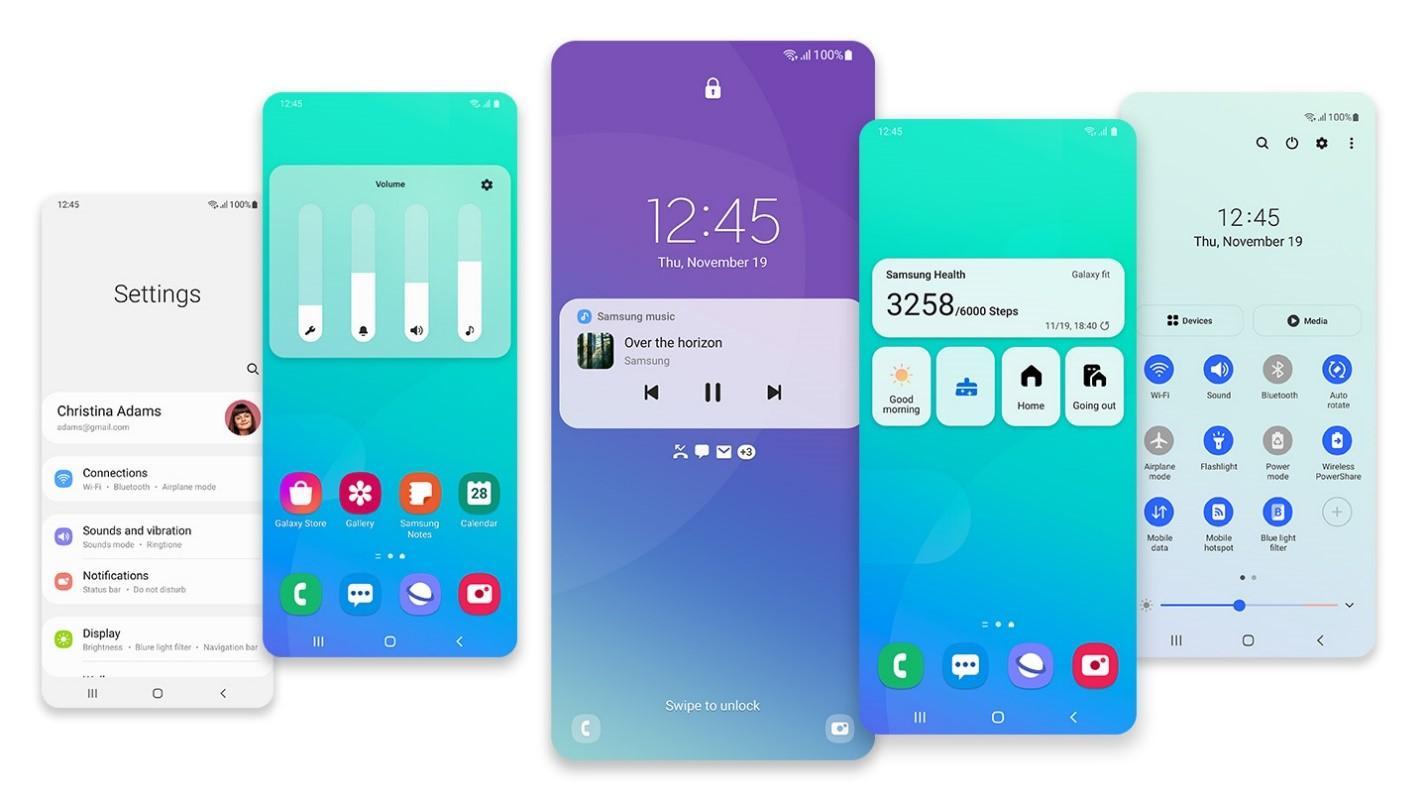 Samsung обновляет популярные смартфоны Galaxy до One UI 2.5 и One UI 3.0