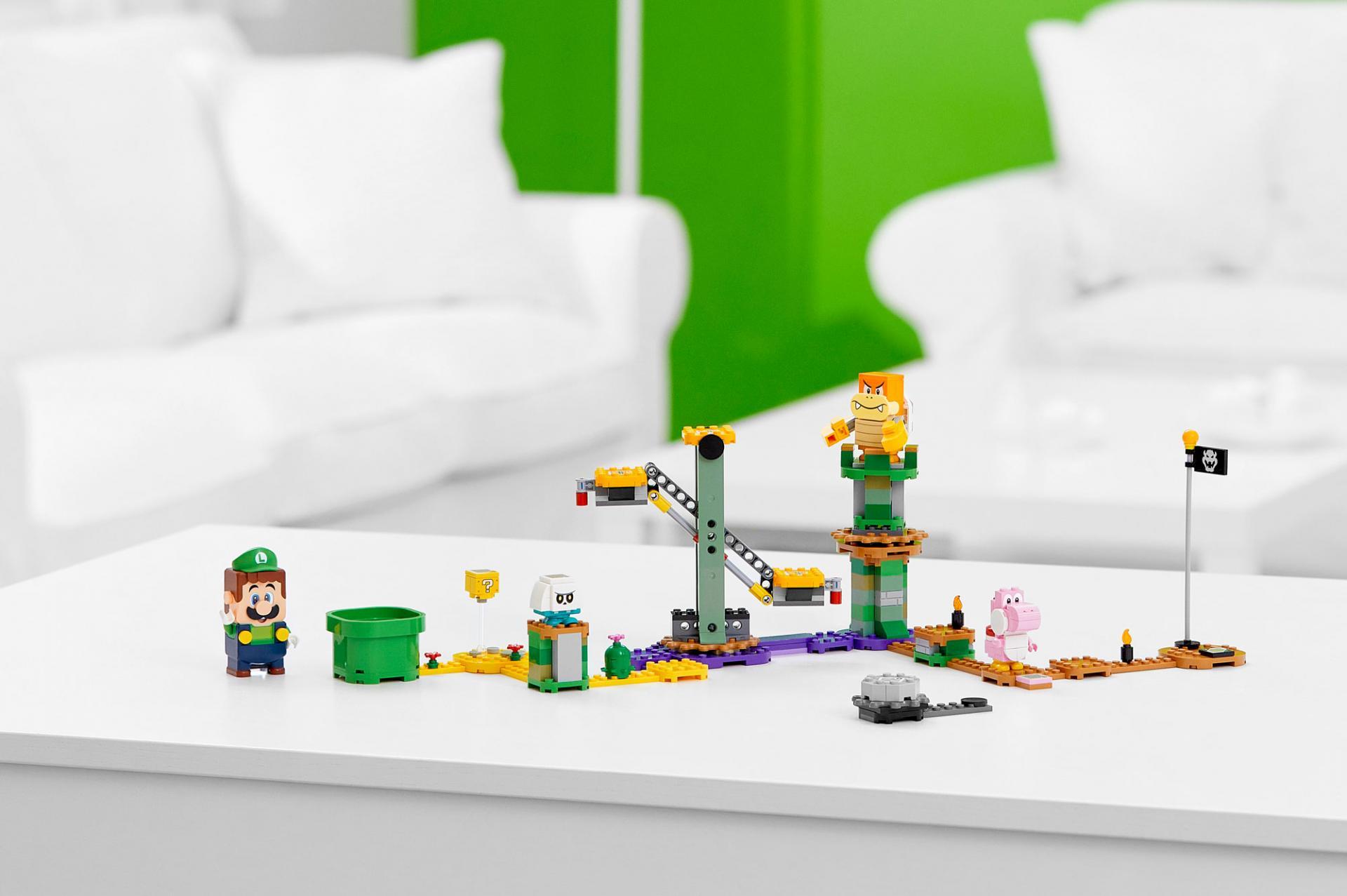 Новый набор LEGO Super Mario с Луиджи поступает в продажу