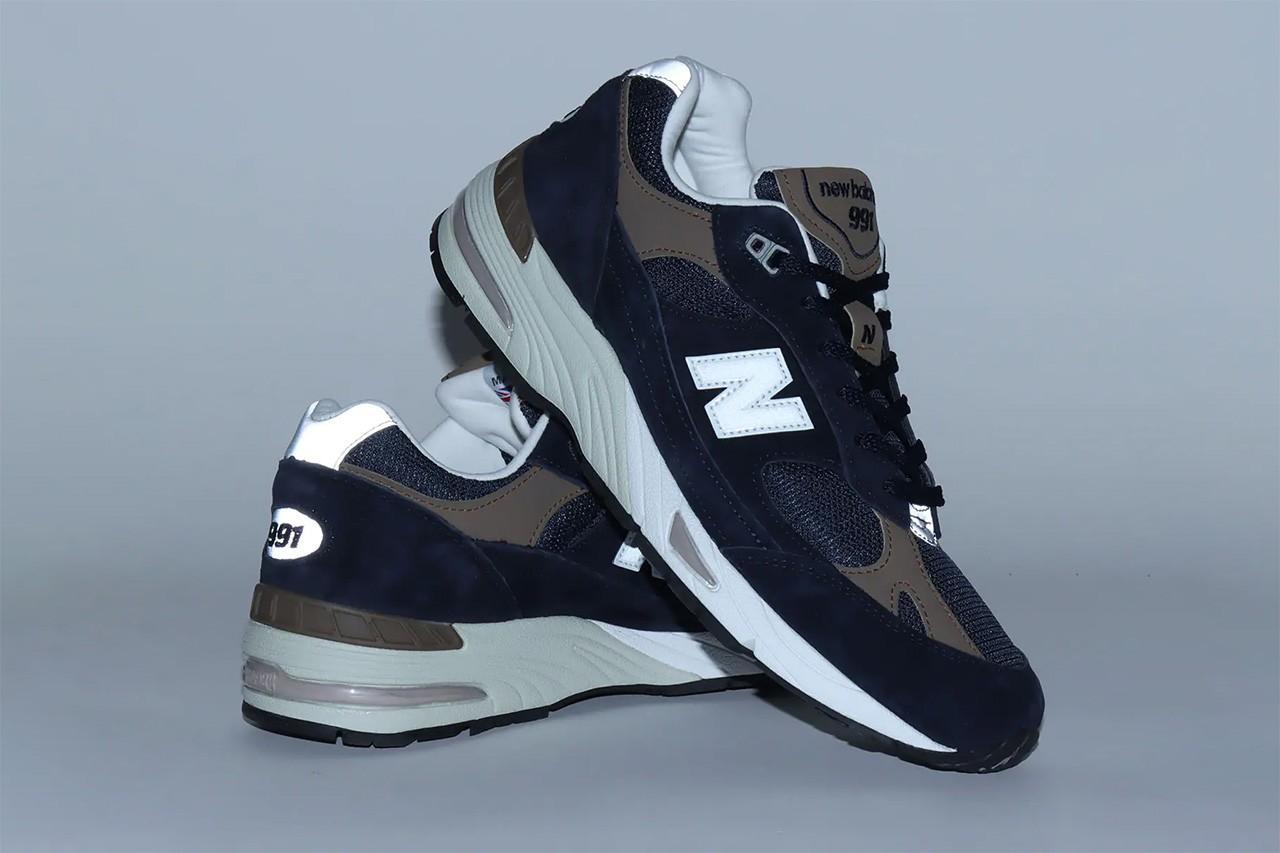 New Balance 991 появились в новых цветовых решениях