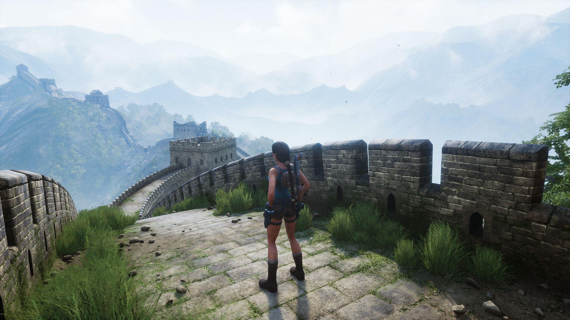 Новые улучшения в фанатском ремейке Tomb Raider 2