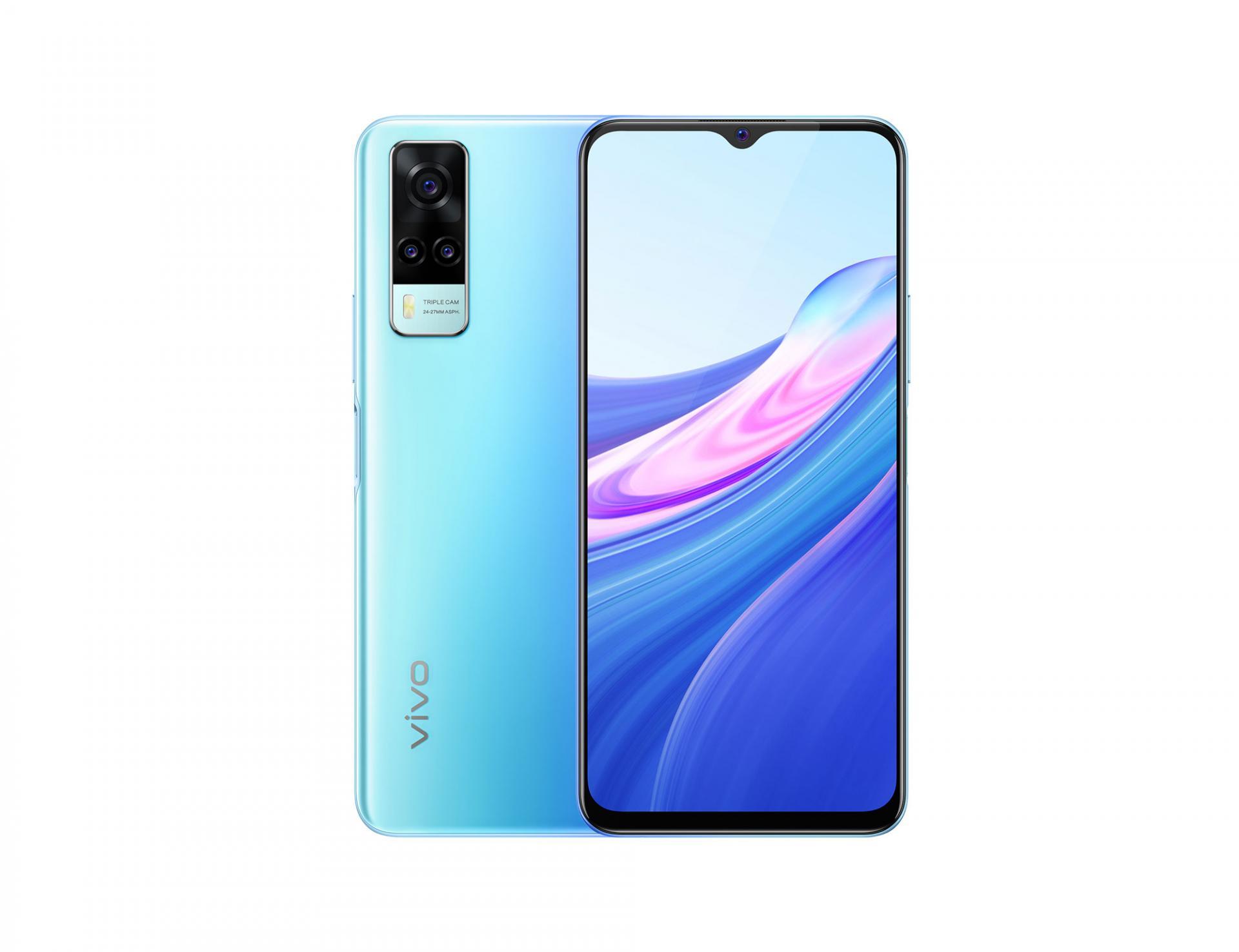 Смартфон vivo Y31 появился за 17 тысяч рублей сразу на Android 11