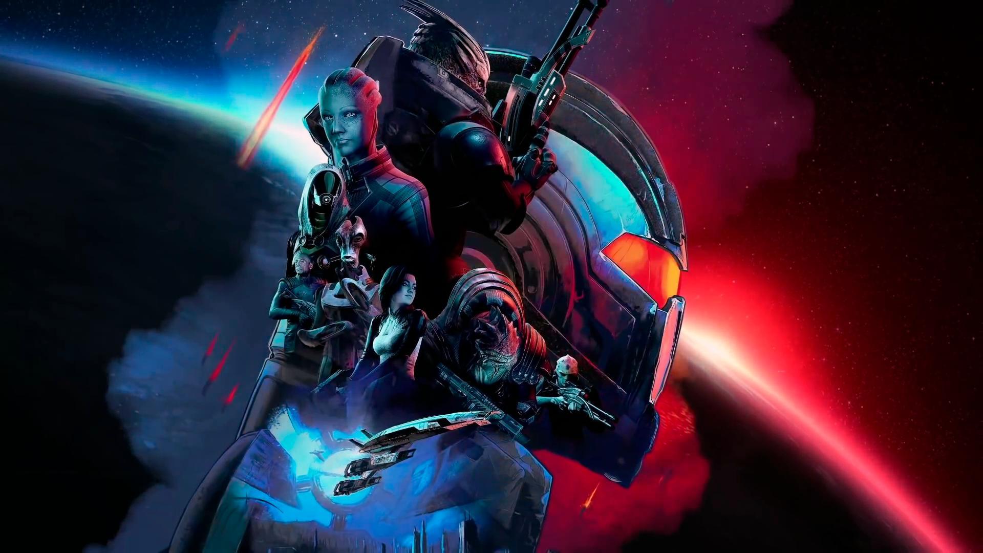 Трилогию Mass Effect Legendary Edition покажут уже на этой неделе
