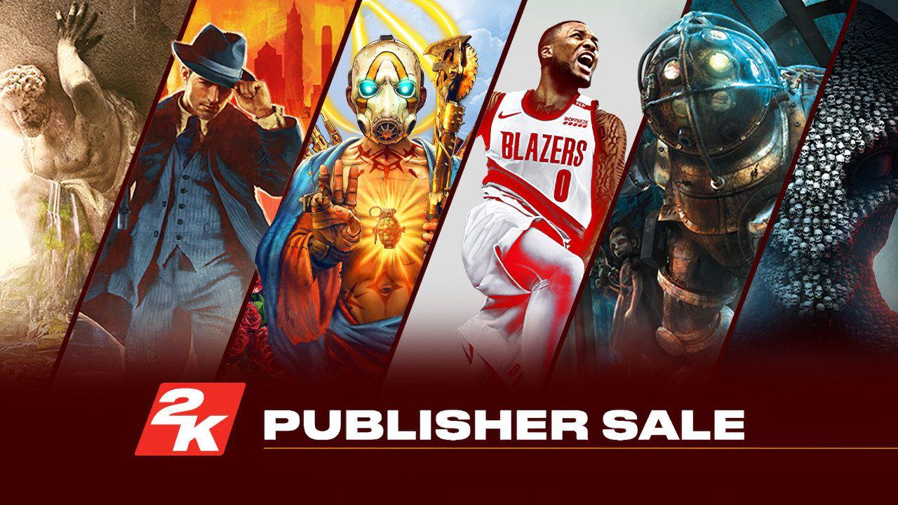 В Steam проходит распродажа игр от издателя 2К. Скидки до 96%.