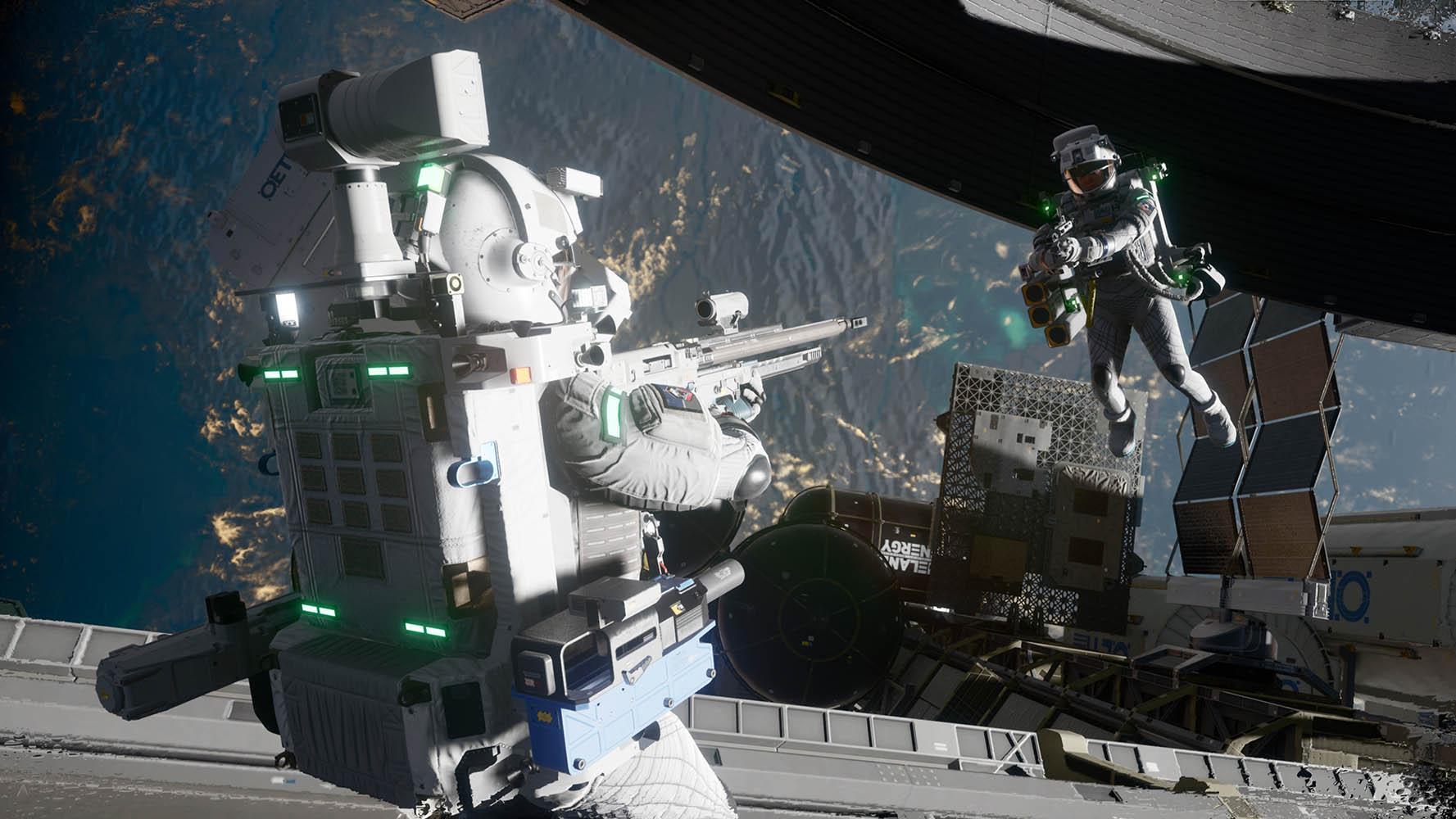 Вышел новой трейлер Boundary. Игру называют Call of Duty в космосе