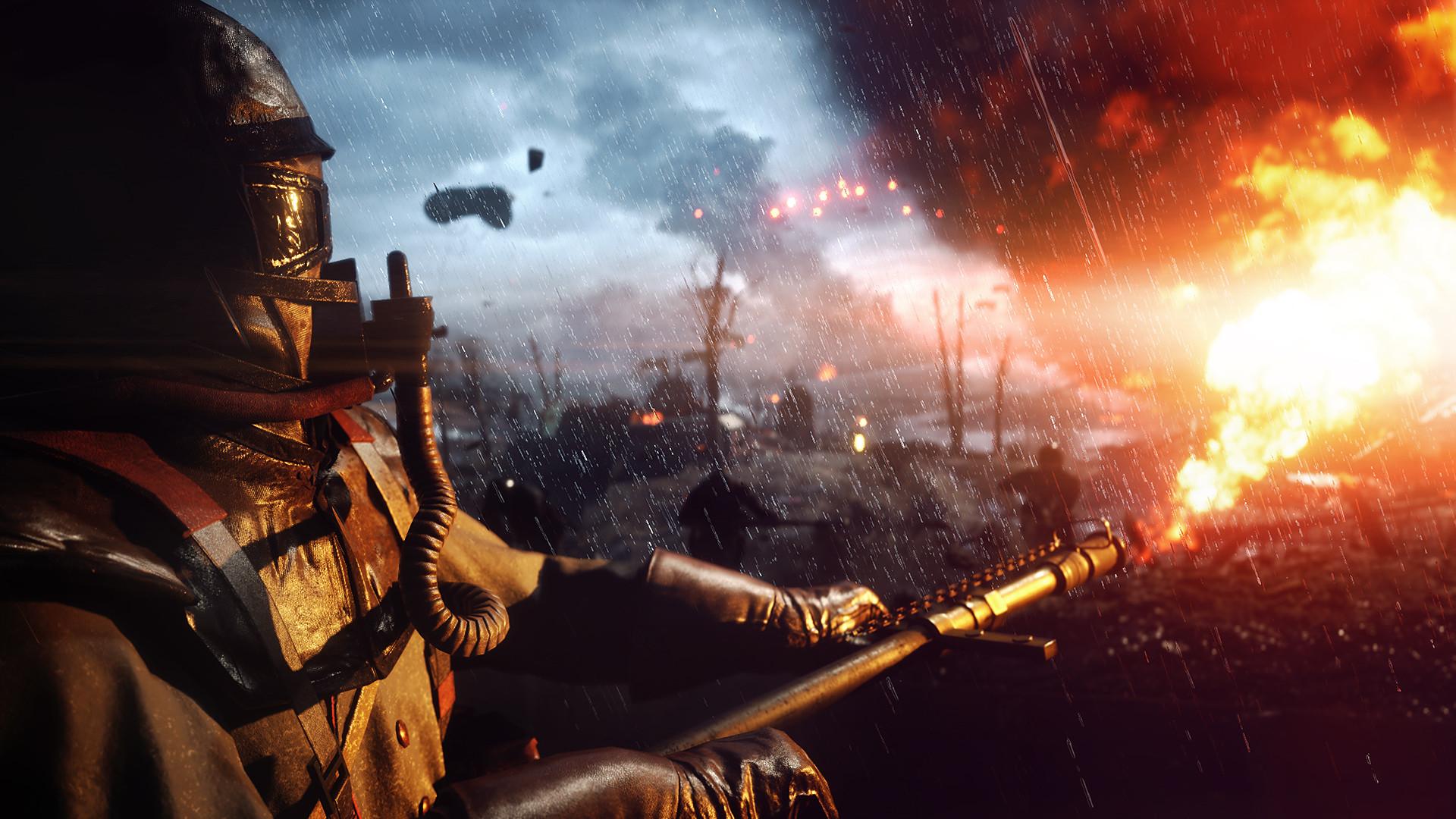 В сети появилось видео Battlefield 1 с применением технологии трассировки лучей