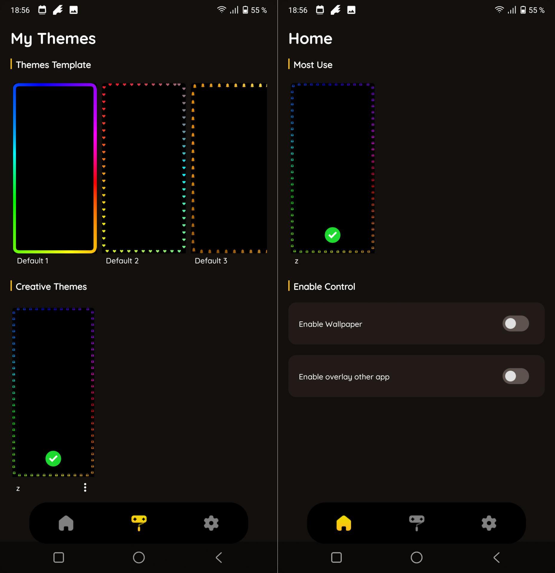 Android может быть весёлым — Edge Lightning Colors