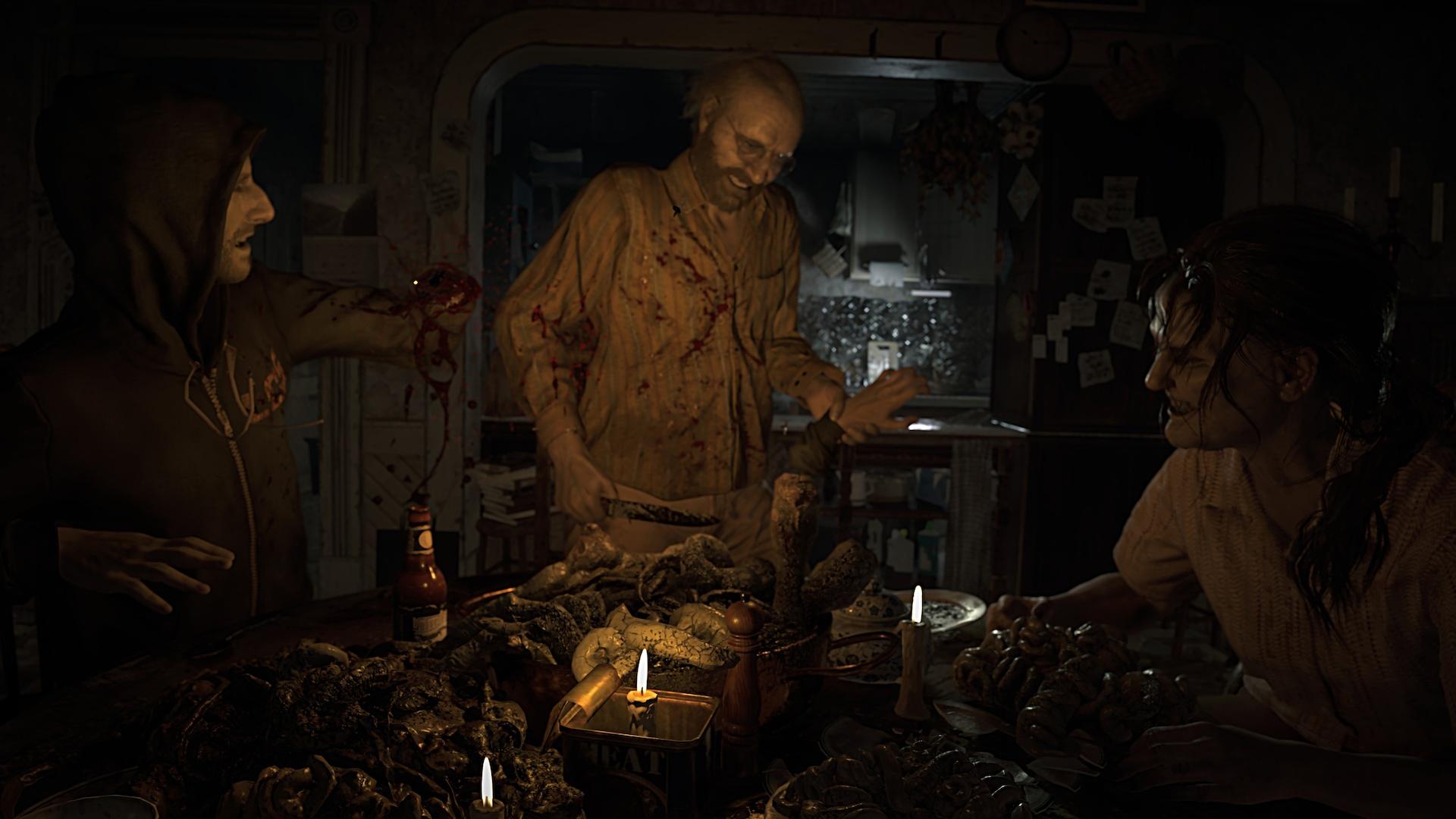 Энтузиаст сделал в Resident Evil 7 фиксированную камеру, превратив игру в олдскульный хоррор