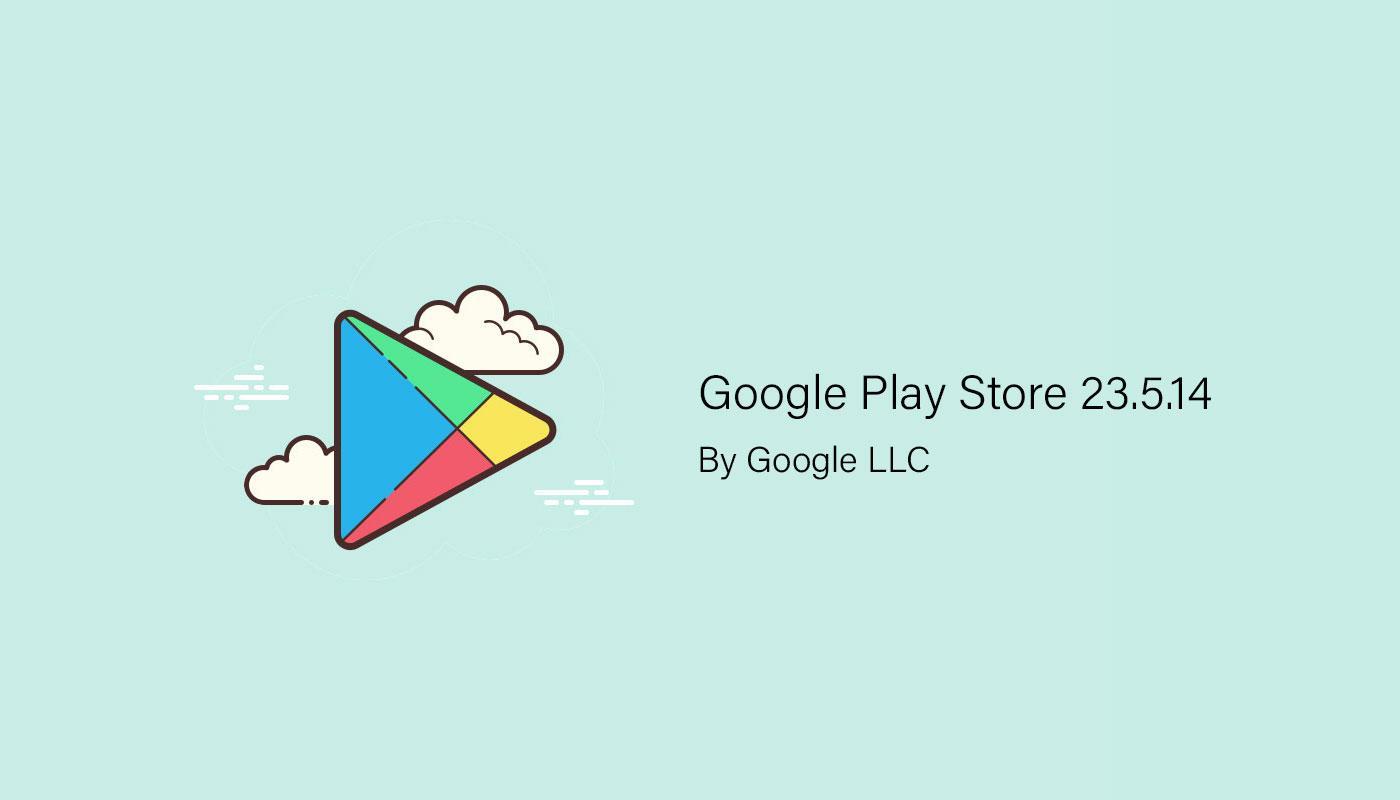 Google Play Store обновился до версии 23.5.14, и нам пора. Скачиваем