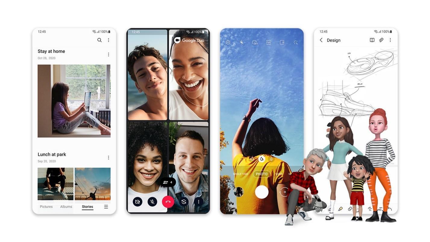 Samsung One UI 3.1.1 выйдет вместо One UI 3.5