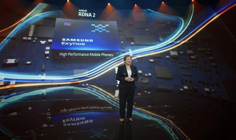 AMD обещает свою графику в смартфонах Samsung