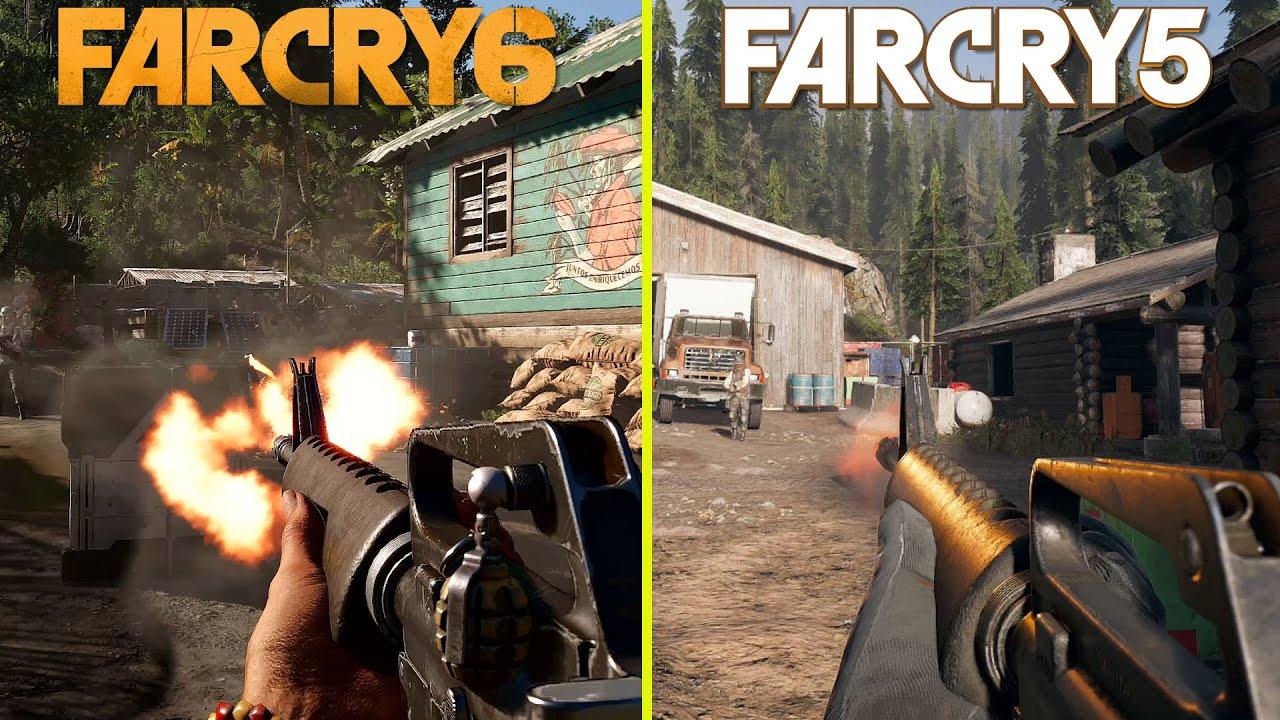 На видео сравнили Far Cry 6 и Far Cry 5. Вот в чем ключевые различия