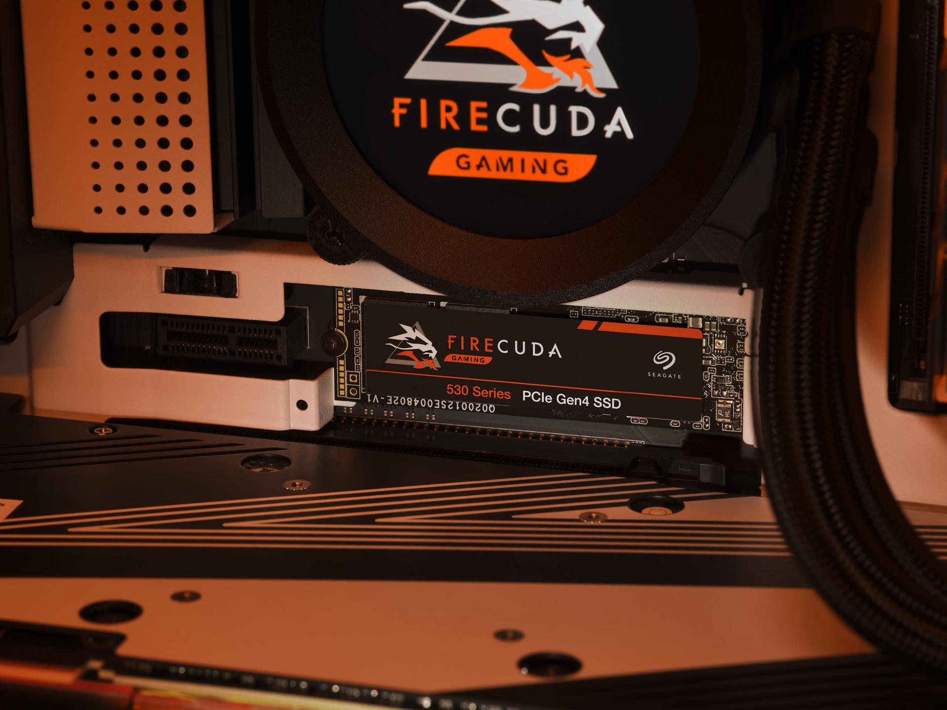 SSD Seagate Firecuda 530 пришёл покорять новые скорости