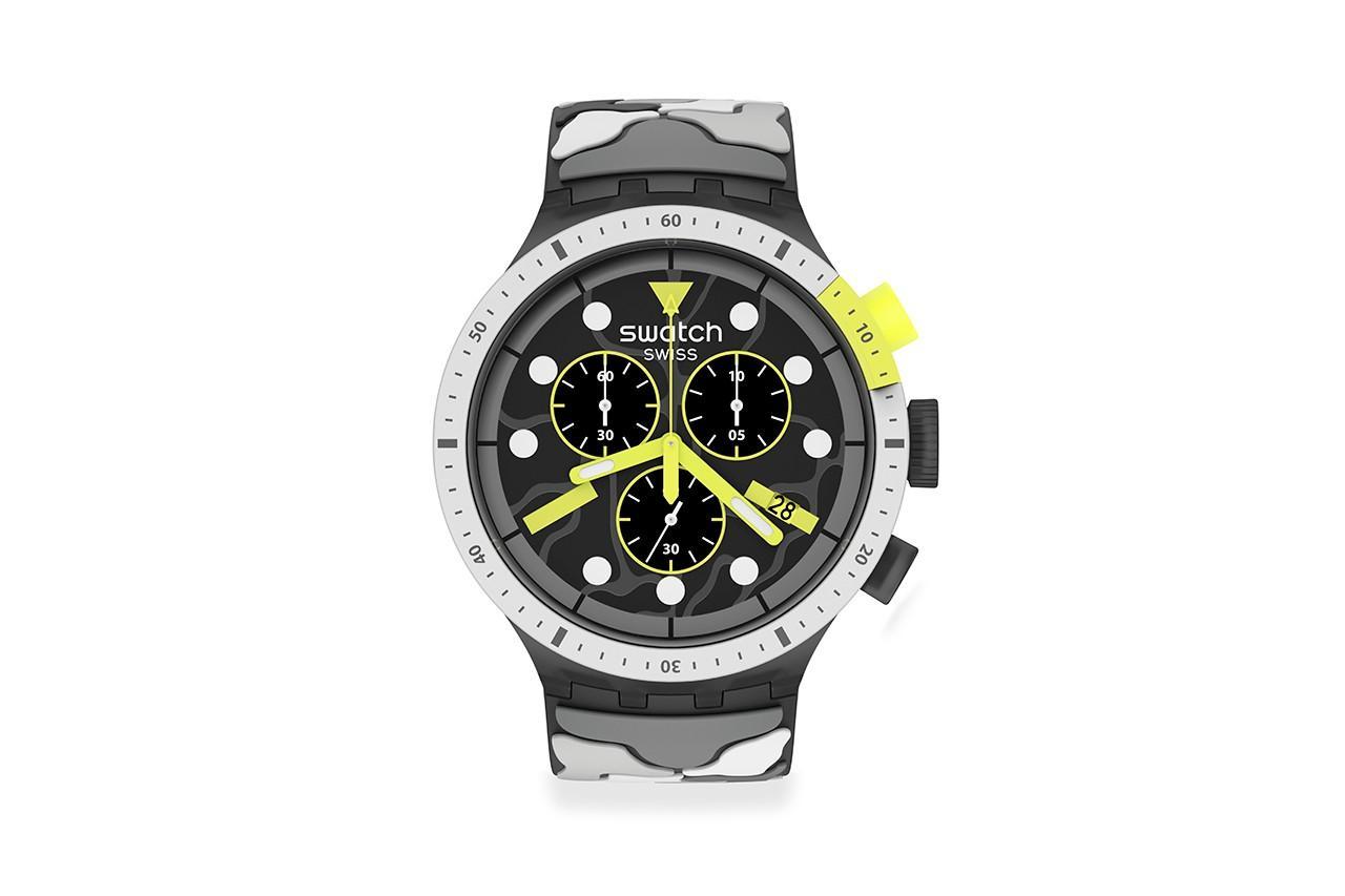 Swatch показала недорогой хронограф ESCAPEARTIC в 4 расцветках
