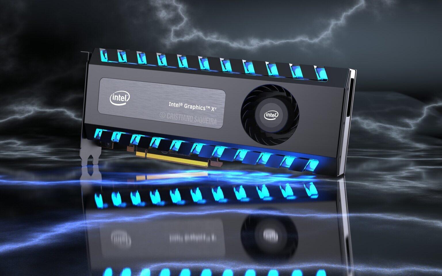 Видеокарта от Intel сможет теснить RTX 3070 и AMD RX 6800