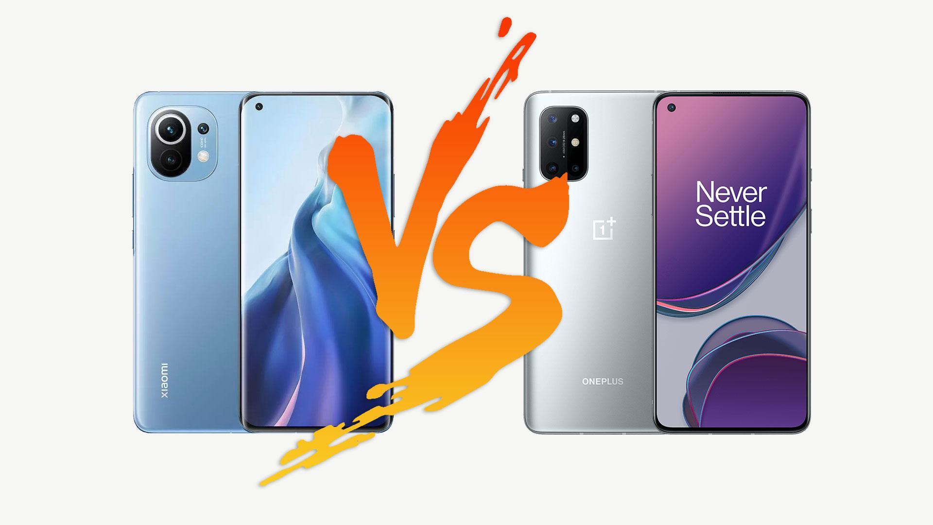 Xiaomi Mi 11 против OnePlus 8T? Что лучше взять именно тебе?