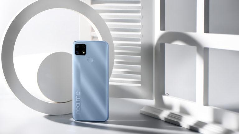 realme C25: Огромный аккумулятор, большой дисплей и приятная цена