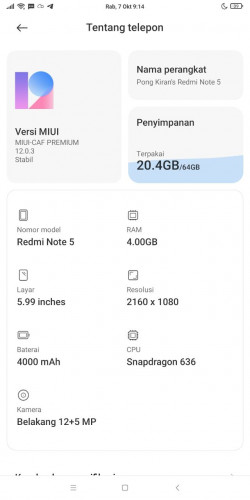 Xiaomi Redmi Note 5 наконец-то получил MIUI 12