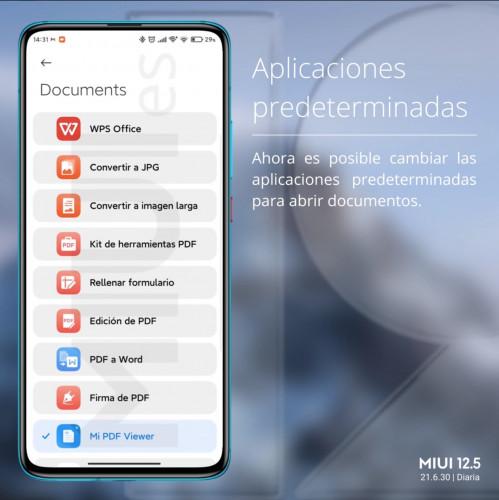 Xiaomi добавила новые опции для выбора приложений по умолчанию