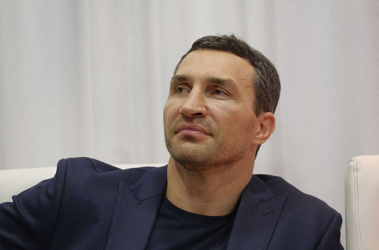 Кличко поговорил с Джошуа о том, как ему нужно действовать в бою против Пулева