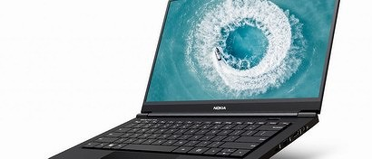 Вышел первый после 10-летнего перерыва ноутбук под маркой Nokia. Его собрали в алюминиево-магниевом корпусе